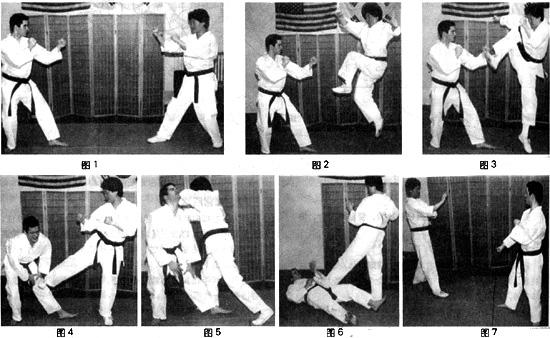 跆拳道实战秘技