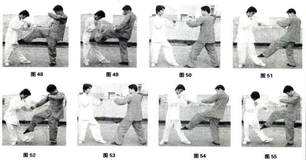 罗汉拳秘传技击法/罗汉脆八打(五)----康复振/传授高翔/主笔