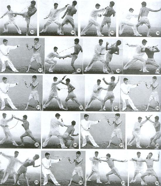 流通门拳法应用精解击步连环拳----况永林、凌召、余文平