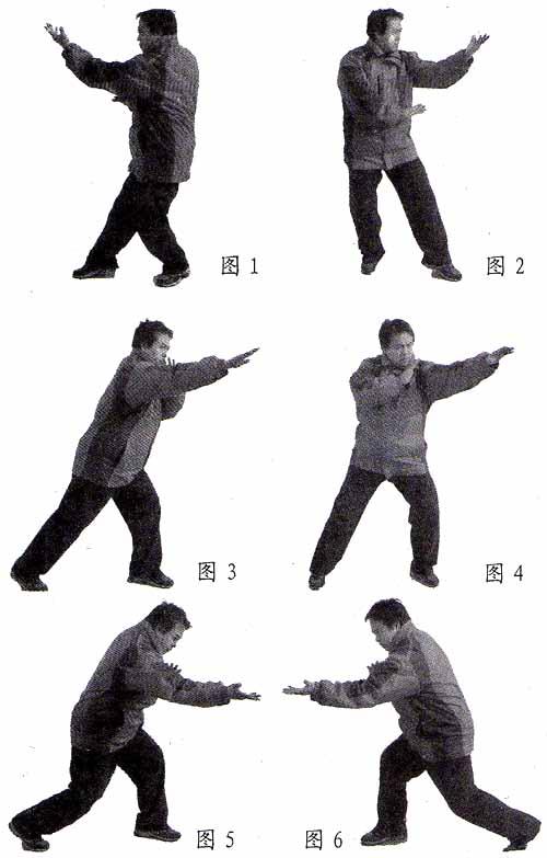 """通背拳""""三绝掌""""实用法----武兵、王宏强"""