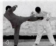 少林太祖腿击法----三武组