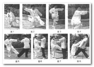宁津八极拳名招解析之二--跪膝