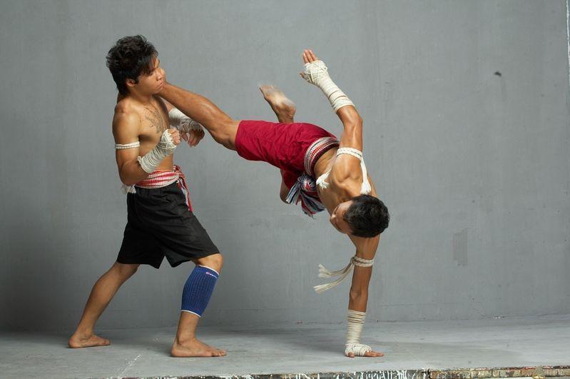 泰拳格斗图片