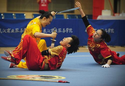 2012年全国武术套路女子锦标赛
