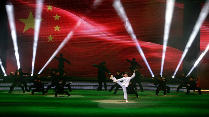 沧州举办2015年迎新春武术主题晚会