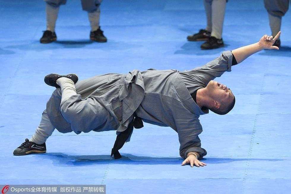 2015年3月8日,巴黎举办武术大赛