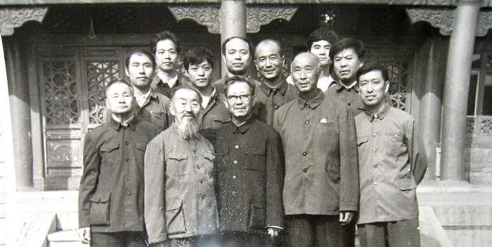 珍贵的照片--武术名家沙国政在天津