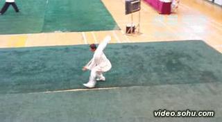 天启棍-2010全国传统武术比赛-陈培吉演练