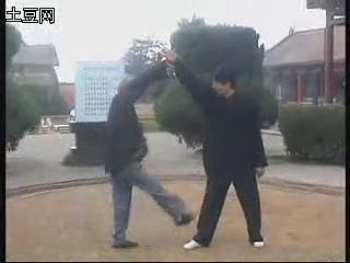 红拳-炮拳搭手-刘存和-刘文成演练