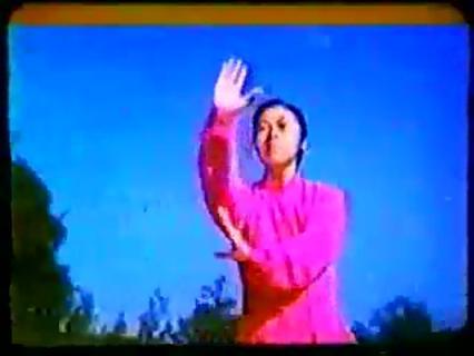 1980年代拍摄的中国传统武术八卦掌