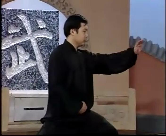 陈式太极拳传统套路二路教学-黄康辉演练
