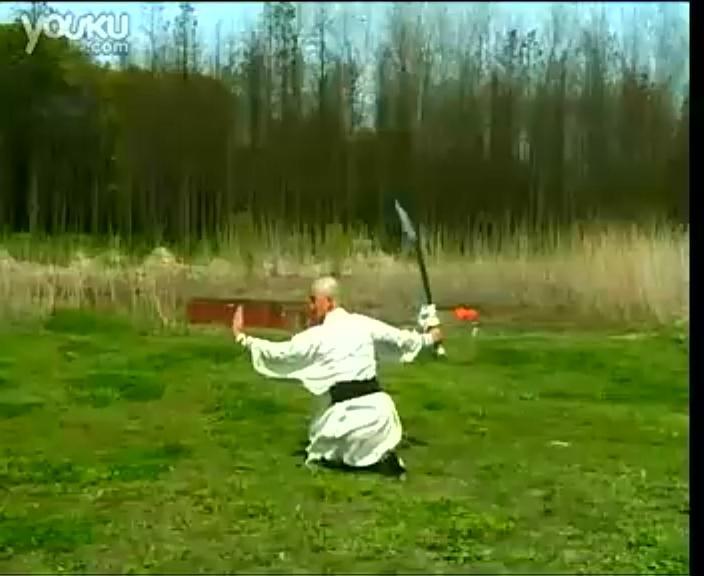 少林武术-卧龙刀