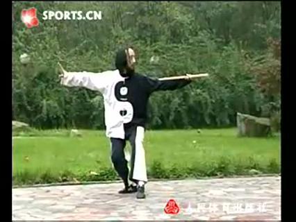 青城-白虎鞭杆-刘绥滨演练