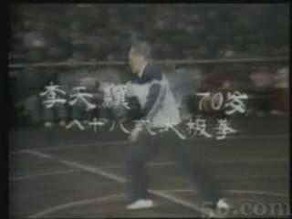 杨氏88式太极拳-70岁-李天骥演练