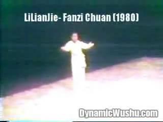 翻子拳 1980年 李连杰演练