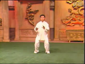 陈氏十八式简化太极拳-陈正雷演练