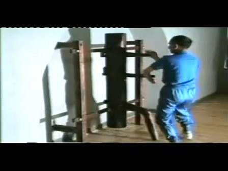 咏春叶问传116式木人桩--叶准演练