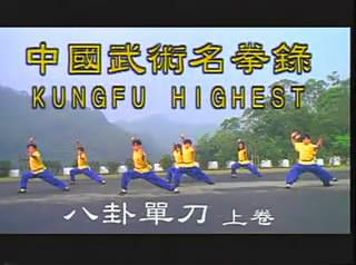 中国武术名拳录-八卦单刀