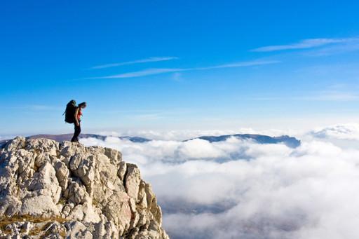 老年人登山五种情况要注意